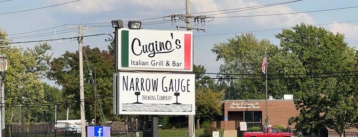 Narrow Gauge Brewing Company is one of Lugares favoritos de Chris.