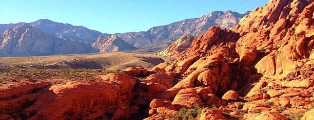 Red Rock Canyon National Conservation Area is one of Vegas.
