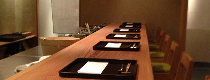 Kajitsu is one of Manhattan fine-dining.
