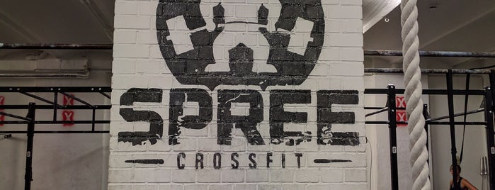 SPREE CrossFit is one of George's Liked Places.