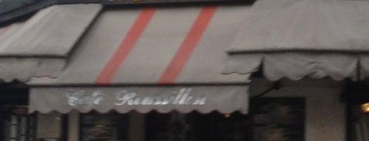 Café Roussillon is one of Paris.