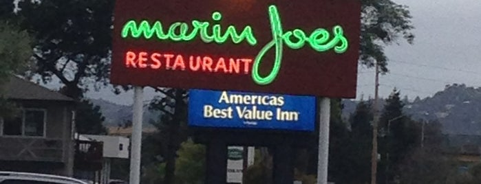 Marin Joe's is one of Marin County's Best.