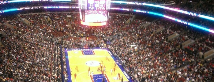 Wells Fargo Center is one of 100 Things to Do in Philly.