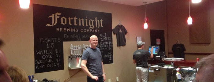 Fortnight Brewing is one of NC Beer.