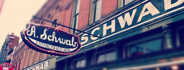 A. Schwab's Dry Goods Store is one of Memphis.