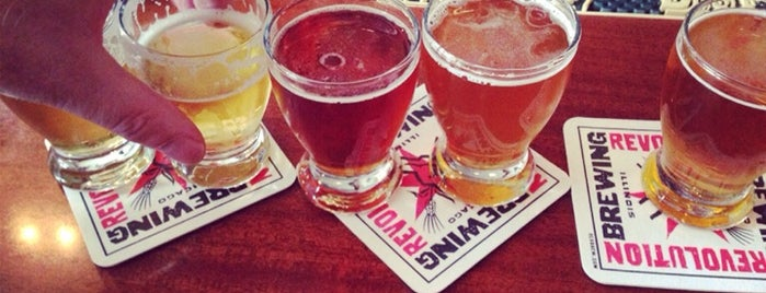 Revolution Brewing is one of Locais curtidos por Emily.