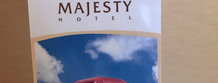 The Majesty Hotel & Apartment is one of Tempat yang Disimpan Roes.