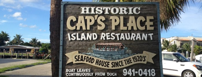 Cap's Place Island Restaurant is one of Coral Springs.