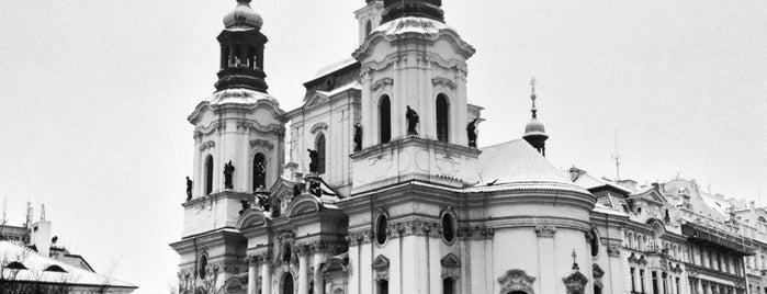 Kostel sv. Mikuláše is one of Pražské památky.
