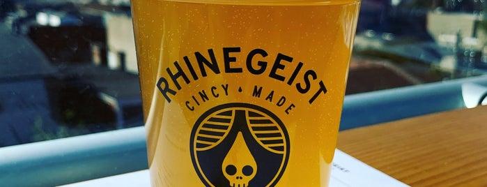 Rhinegeist Rooftop Bar is one of USA Cincinnati.