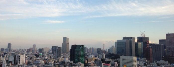 明治大学 スカイラウンジ暁 is one of TOKYO-TOYO CURRY-5.