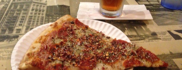 N.Y. and C. Pizza is one of Only the best food in Santa Monica.