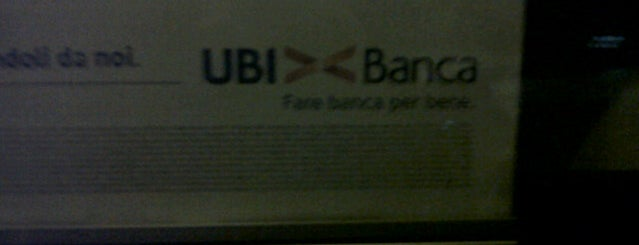 UBI Banca is one of Lieux qui ont plu à Anna.