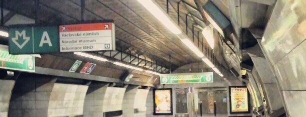 Metro =A= =C= Muzeum is one of Prag.