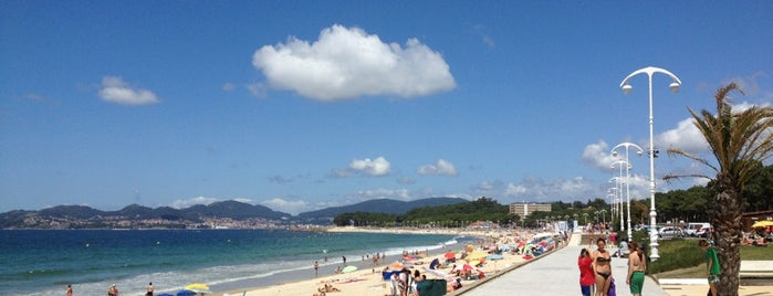 Praia de Samil is one of Riey 님이 저장한 장소.