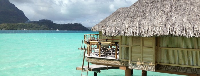 Bora Bora Pearl Beach Resort and Spa is one of Lugares favoritos de Denis.