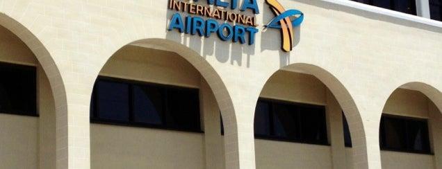 Aeroporto Internacional de Malta (MLA) is one of Airports (around the world).