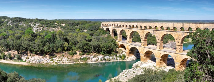 Pont du Gard is one of Gard adresses.