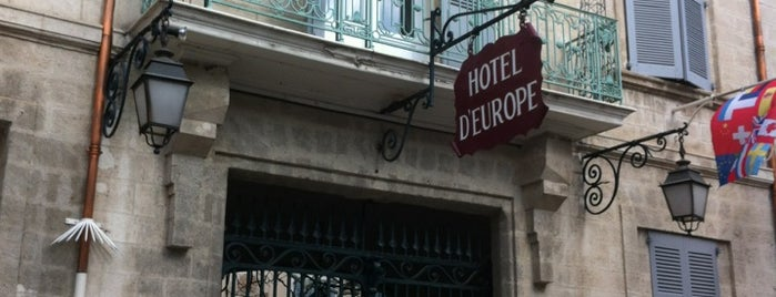 Hotel d'Europe is one of Hotels.