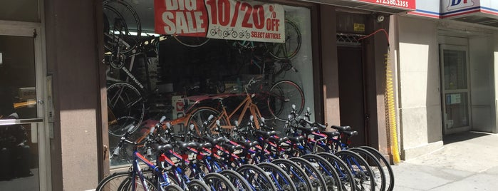 Master Bike Shop is one of For New York: Everyday Necessities.