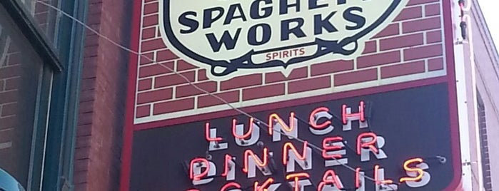 Spaghetti Works is one of Restaurants/Social.