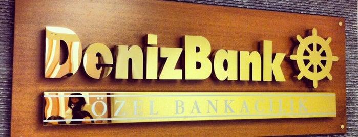 Denizbank İstanbul Özel Bankacılık Merkezi-Özel İşlemler is one of Berna💫 : понравившиеся места.
