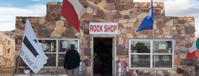 Rock Shop is one of Marfa.