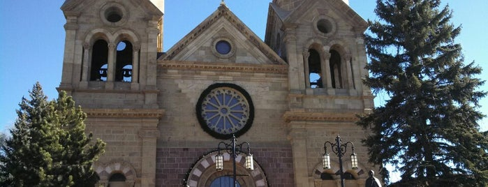Cathedral Basilica of St Francis of Assisi is one of Historic Route 66.