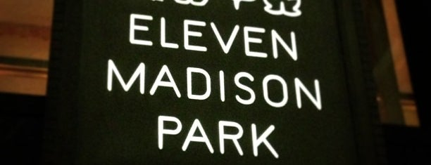Eleven Madison Park is one of New York.