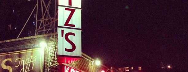 Katz's Delicatessen is one of The Outsiders.