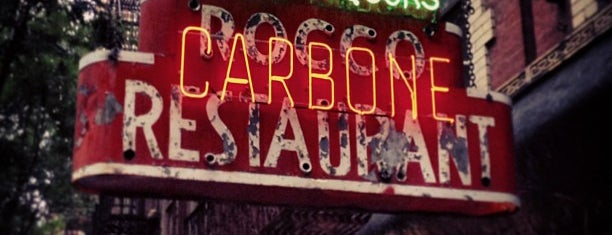 Carbone is one of NYC Thrillist.