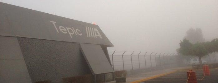 Aeropuerto Internacional Amado Nervo is one of Por Hacer.
