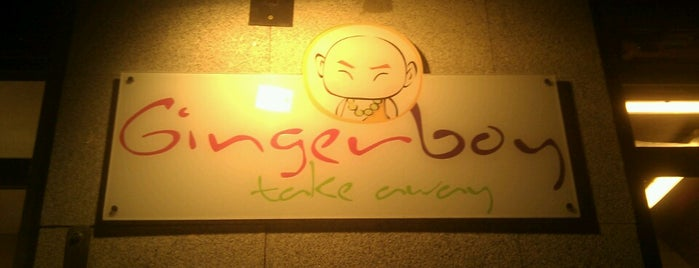 Gingerboy Take Away is one of Restaurantes.