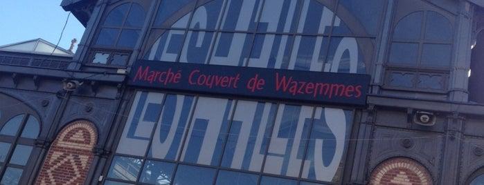 Marché de Wazemmes is one of Jas' favorite urban sites.