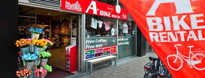 A-Bike Rental is one of Amsterdam.