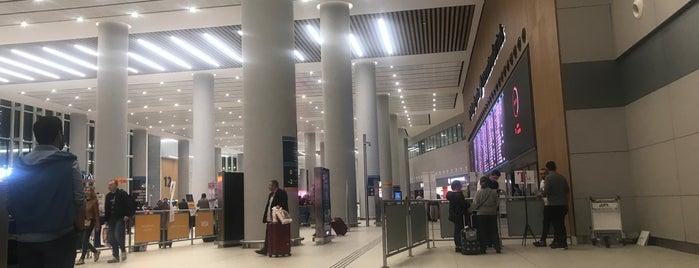 İç Hatlar Geliş Terminali is one of Locais curtidos por Cihan.