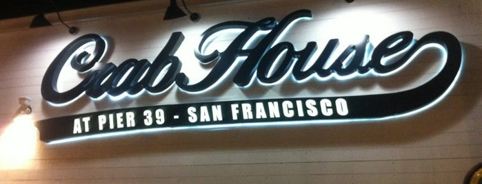 Crab House at Pier 39 is one of San Fran.