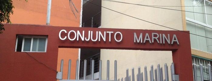 Conjunto Marina is one of Locais curtidos por andRux.