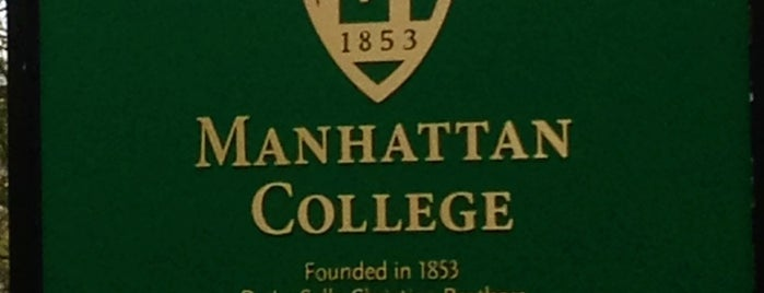 Manhattan College is one of Bronx Museum Spots.