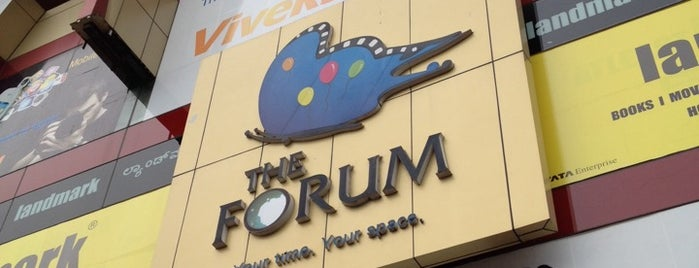 The Forum Mall is one of Bengaluru Malls.