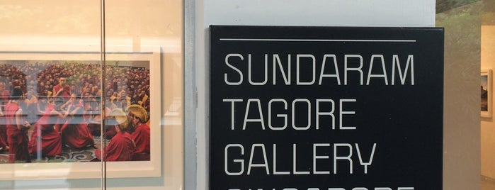 Sundaram Tagore Gallery is one of สถานที่ที่ Silene ถูกใจ.