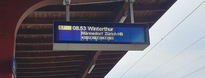 Bahnhof Stäfa is one of schon gemacht 2.
