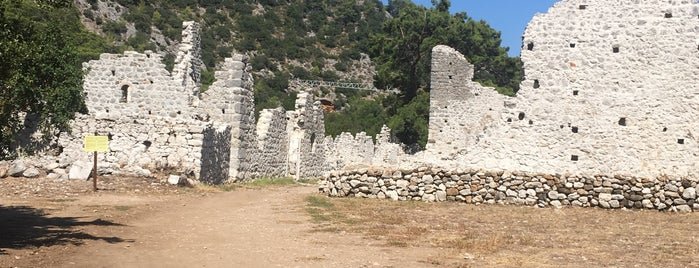 Zeus Tapinagi is one of Kaş,Çıralı,Olimpos,Antalya.