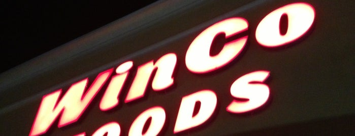 WinCo Foods is one of Desert Cities.