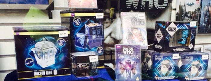 Forbidden Planet is one of London Not-Food Places.