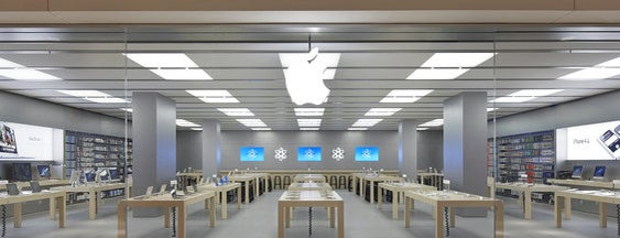 Apple Rhein-Center is one of Tatiana 님이 저장한 장소.