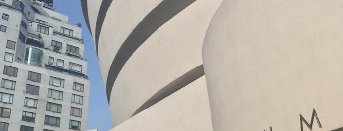 Solomon R Guggenheim Museum is one of US Landmarks.