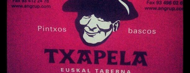 Txapela Euskal Taberna is one of BCN que hacer.