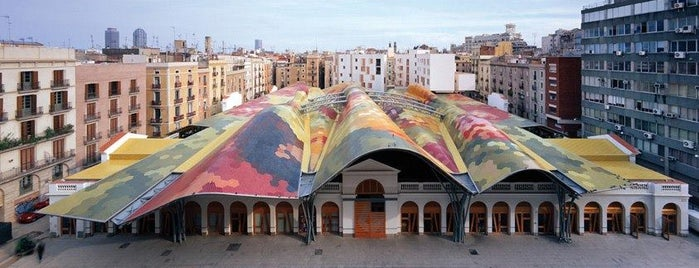 Mercat de Santa Caterina is one of // Barcelona.