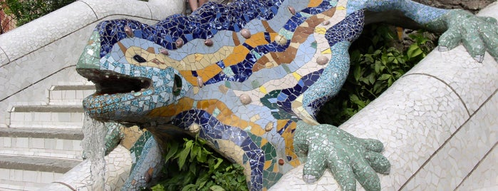 Parc Güell is one of Best Around the World!.